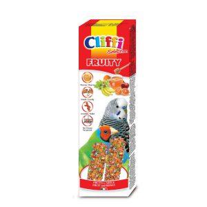 """Sticks pappagallini esotici con frutta e miele """"fruity"""" 60 g"""