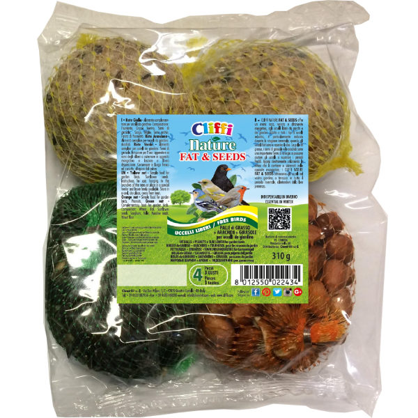 Nature fat & seed 4 pz