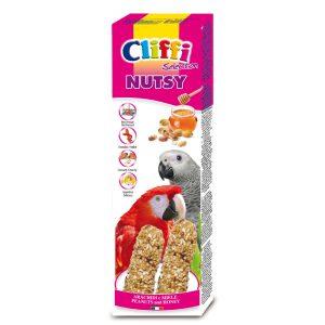 """Sticks pappagalli con miele e arachidi """"nutsy"""" 150 g"""