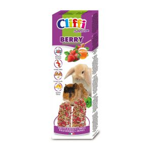 "Sticks conigli - cavie ""berry"" 110 g"