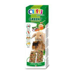 """Sticks conigli - cavie con ortaggi e miele """"greeny"""" 110 g"""